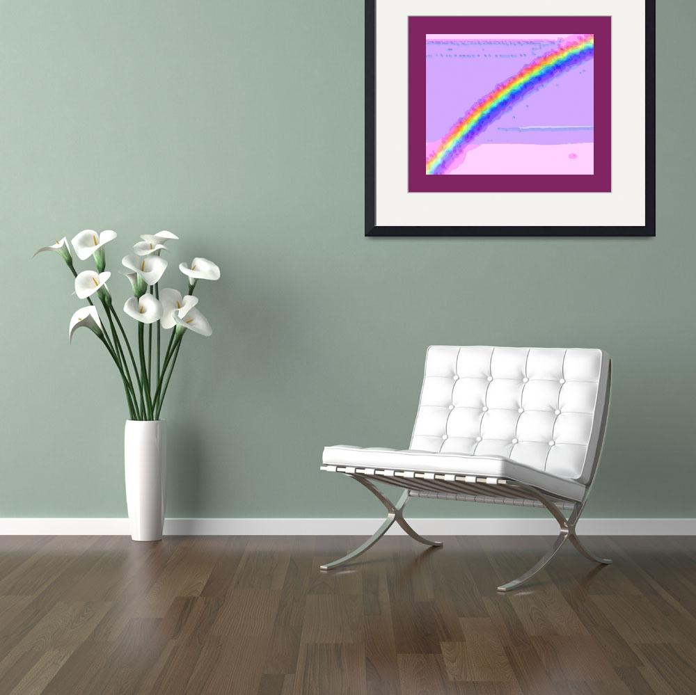"""""""Rainbow with large border""""  (2013) by TheNorthernTerritory"""