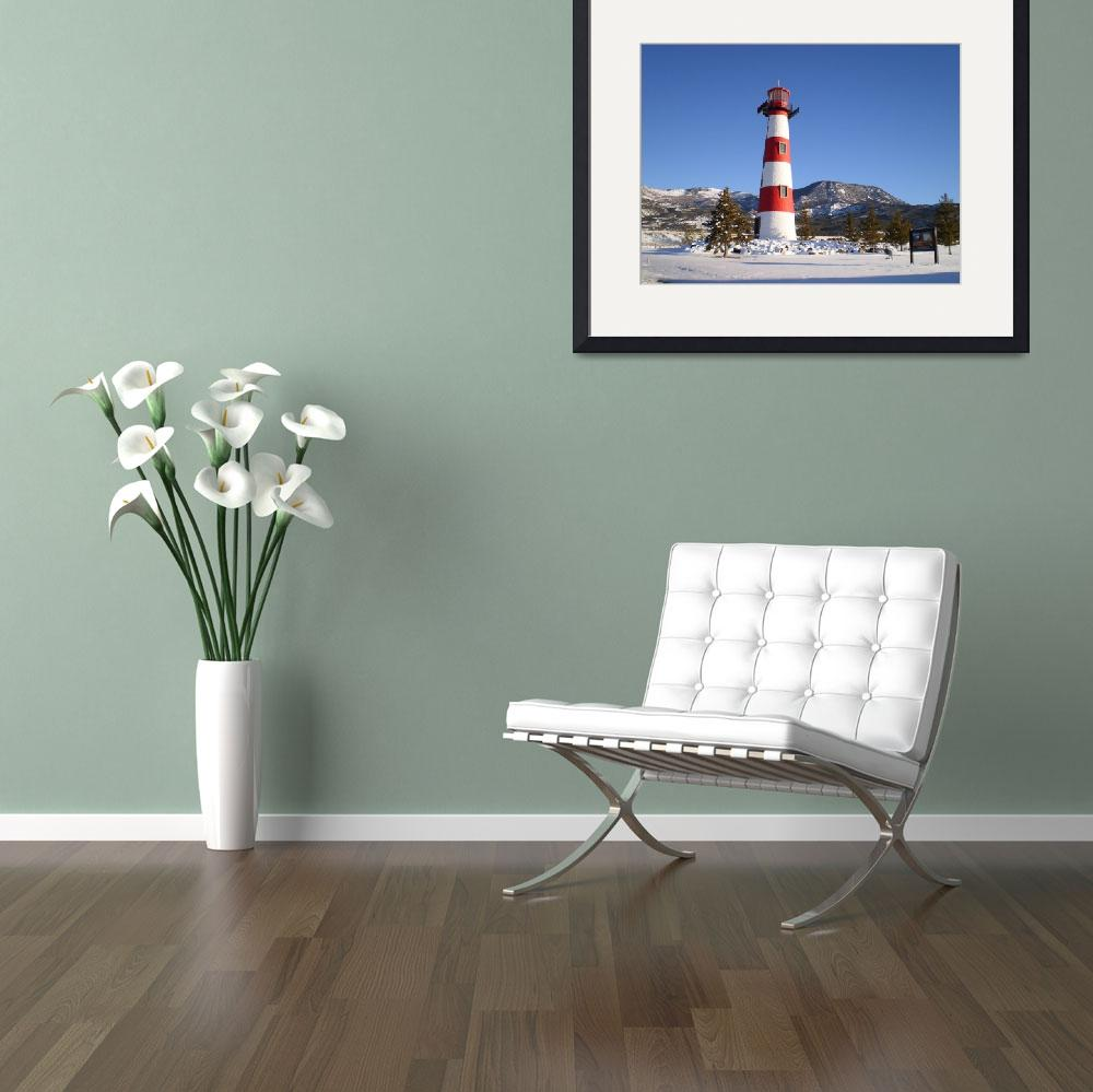 """""""Land-Locked Lighthouse&quot  (2009) by paulwhite"""