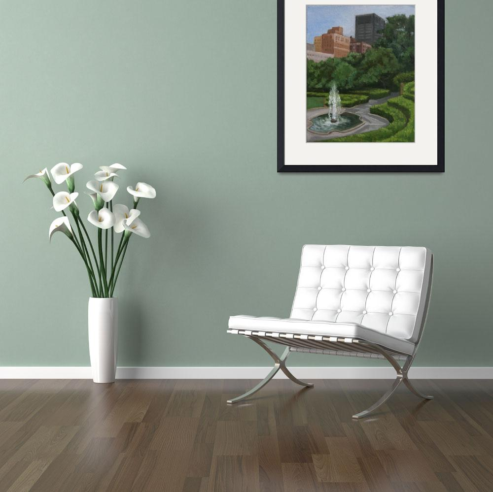 """""""Conservatory Garden&quot  (2010) by luiscolan"""
