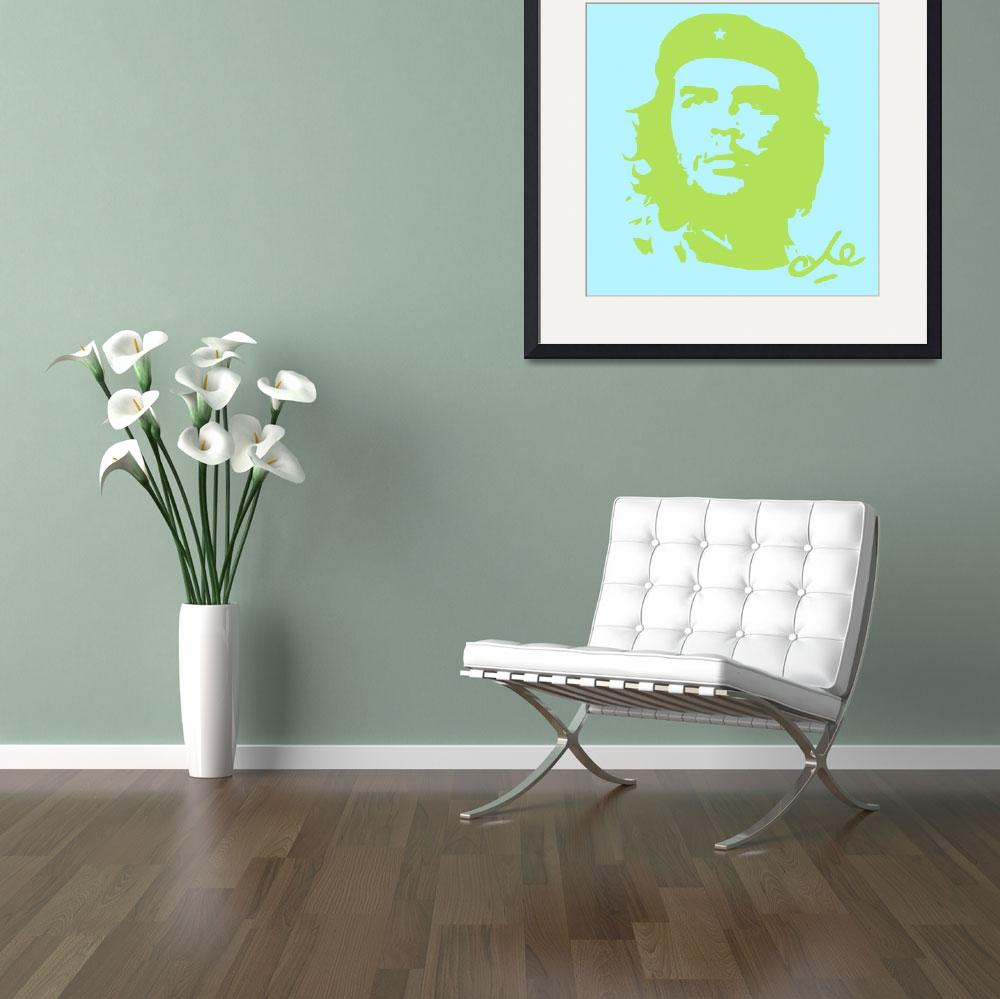 """""""Che Guevara Poster 18&quot  by motionage"""