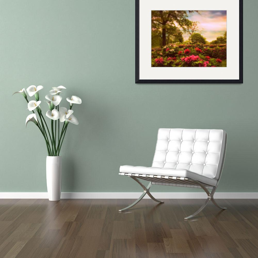 """""""Peony Field&quot  (2014) by JessicaJenney"""