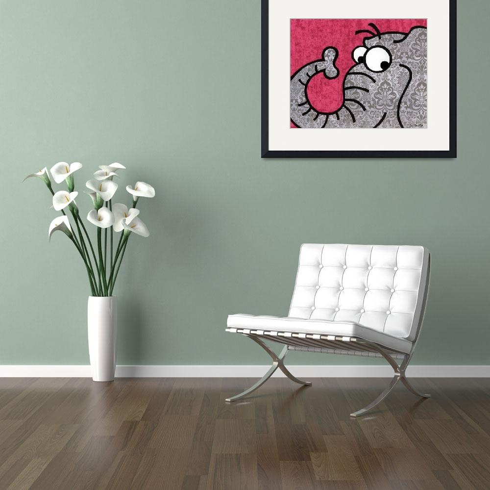 """""""elephant&quot  (2010) by mytwobitts"""