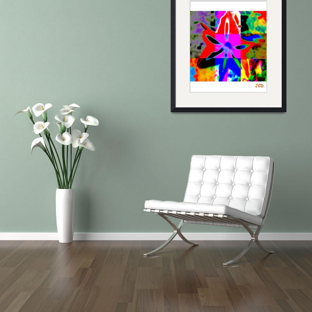 """""""flower of my tropical garden&quot  (2013) by WOWPRINT"""
