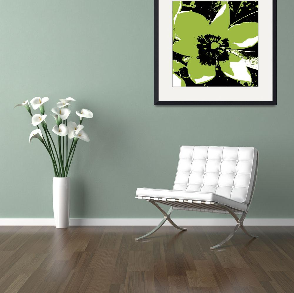 """""""Blooming Green&quot  (2009) by HerbDickinson"""