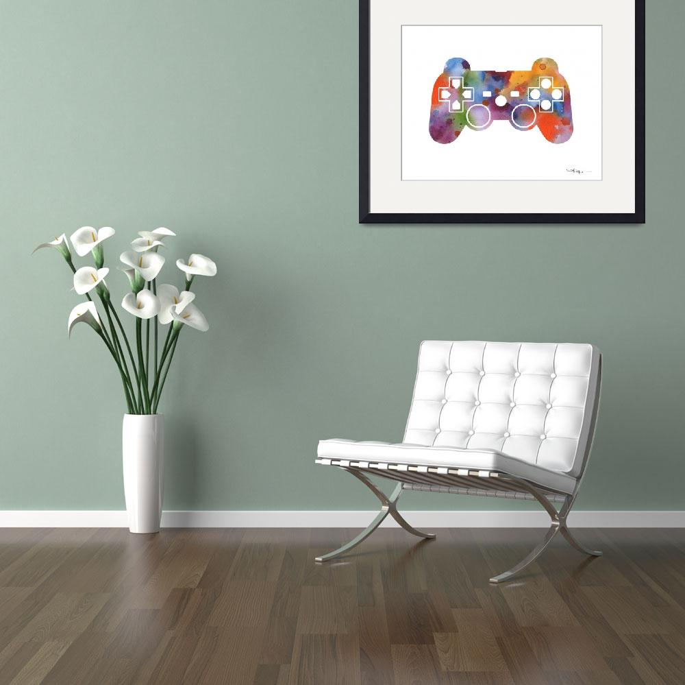 """""""Game Controller&quot  (2016) by k9artgallery"""