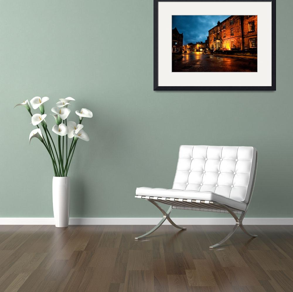 """""""Rutland Arms Hotel Bakewell&quot  by stewak"""