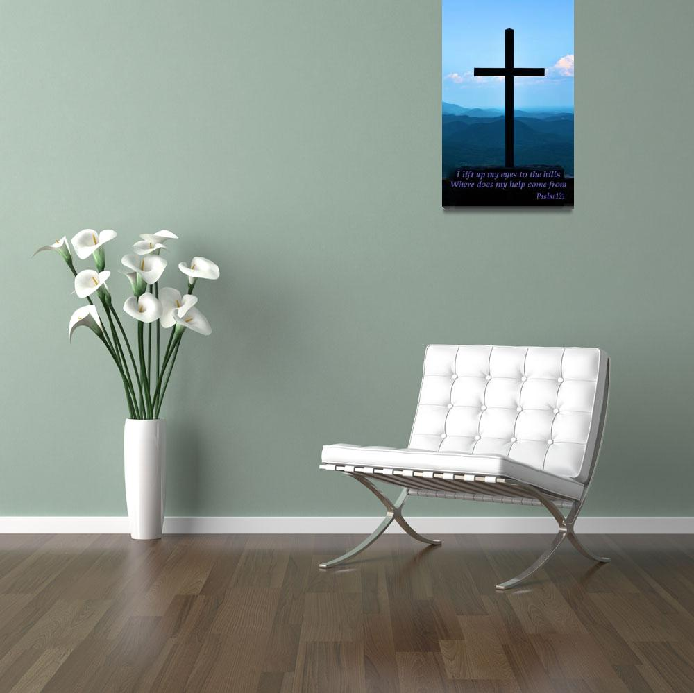 """""""Psalm 121 - VERSE&quot  by BobSamplePhotography"""