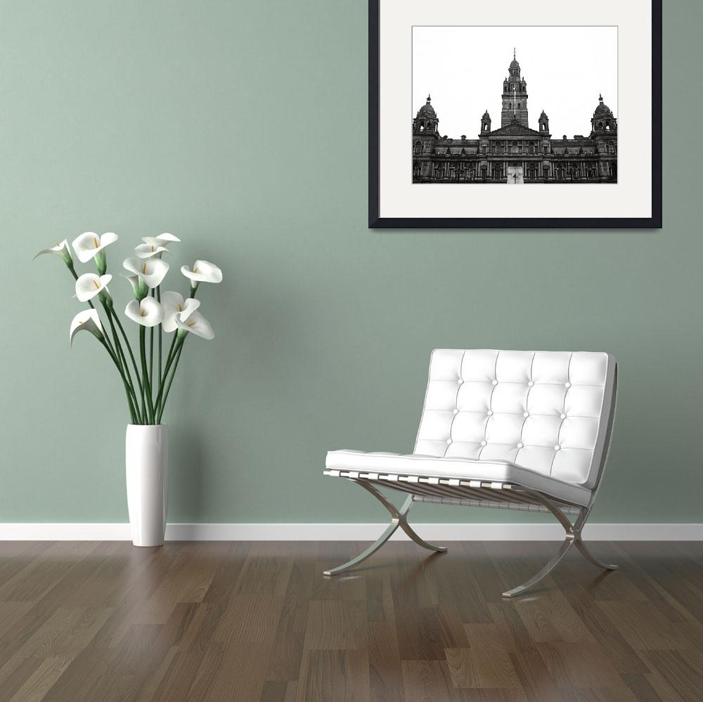 """""""Glasgow City Chambers&quot  (2010) by RossPhotoWorks"""