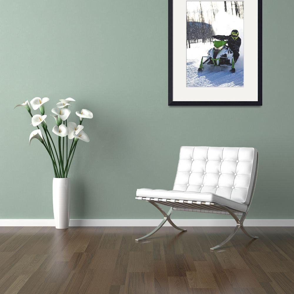 """""""Snowmobiler's Perfect Corner&quot  by KalmbachPublishing"""