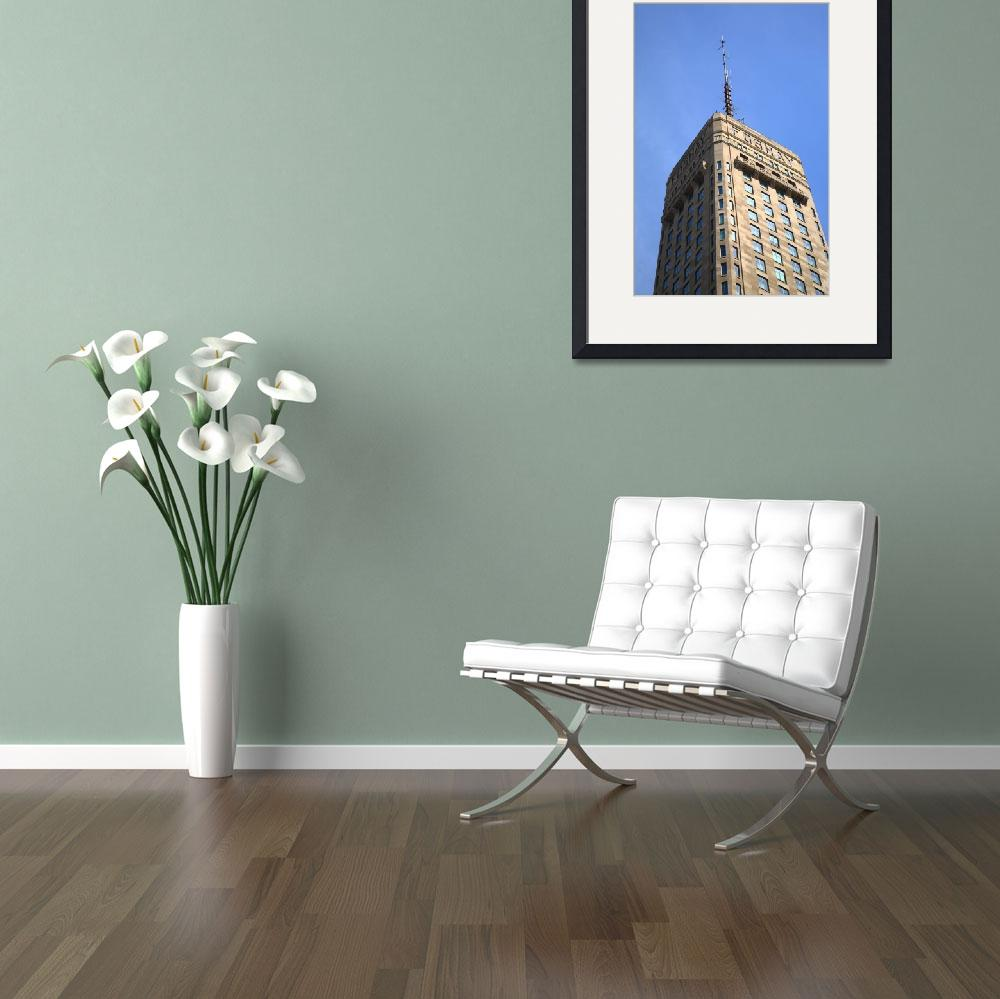 """Minneapolis Tower&quot  (2010) by Ffooter"