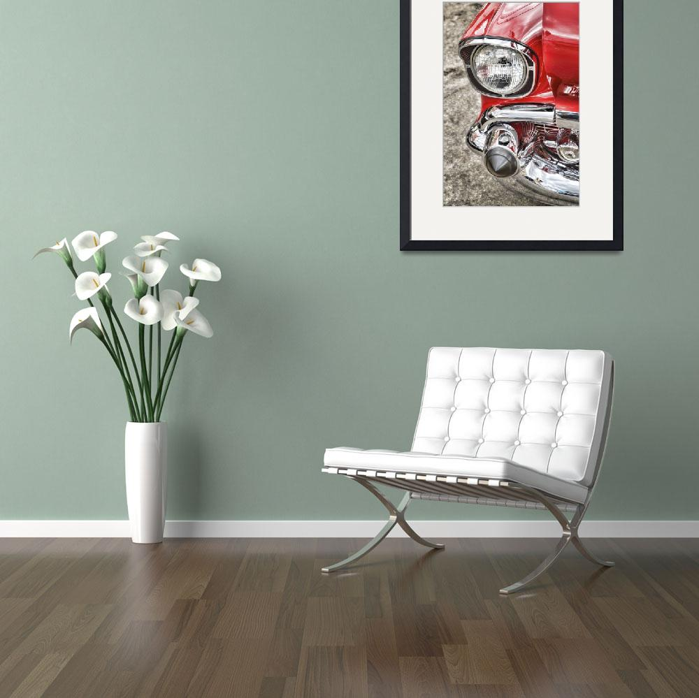 """""""Stylised Vintage Car&quot  (2014) by SueLeonard"""