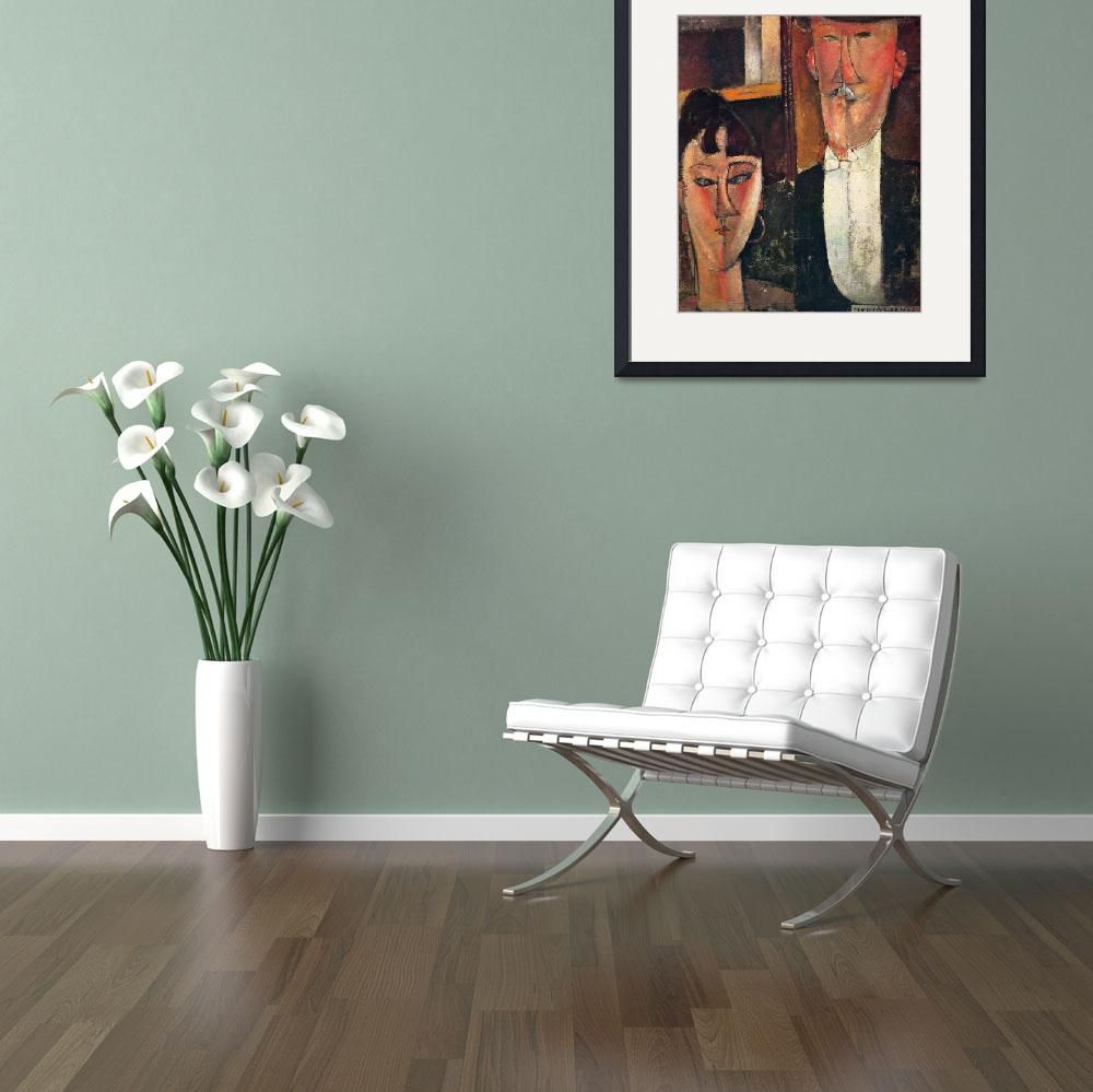 """Amedeo Clemente Modigliani Painting 58&quot  by ArtLoversOnline"