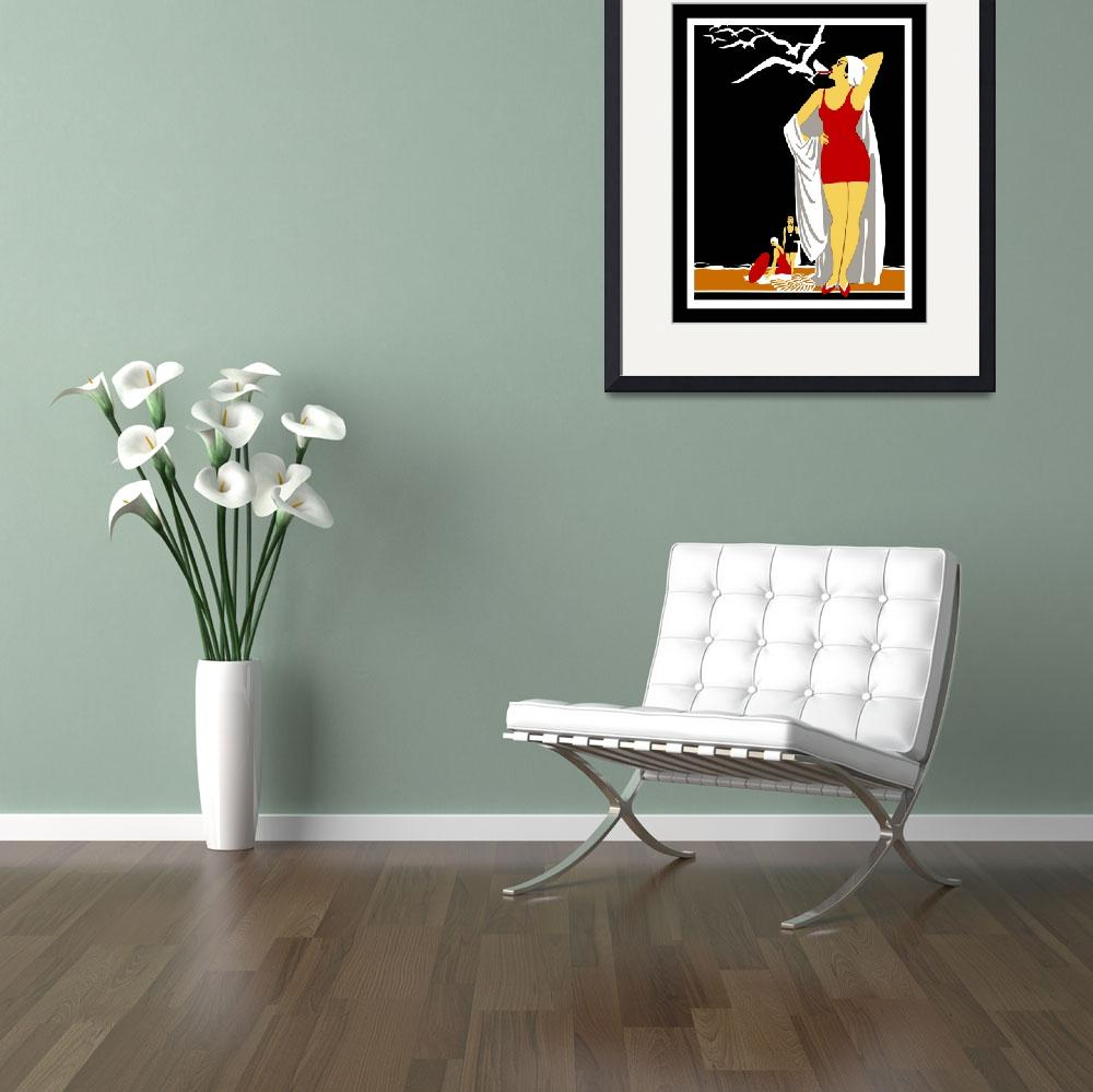 """""""New York Vintage Travel Poster (3)&quot  by shanmaree"""