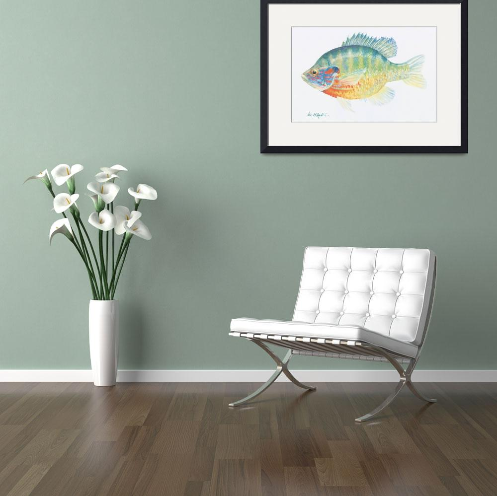 """""""sunfish&quot  (2006) by LisaMclaughlin"""