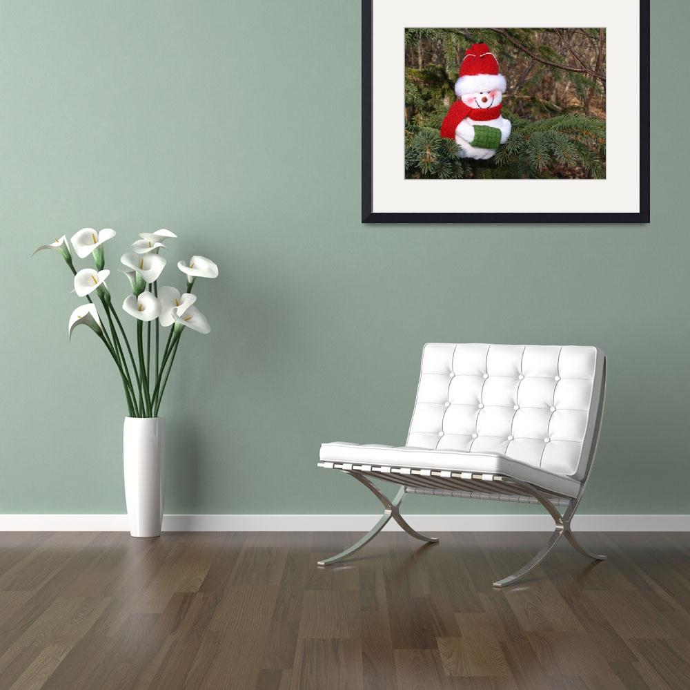"""""""Snowman waiting for Christmas 2&quot  (2008) by Albertphoto"""