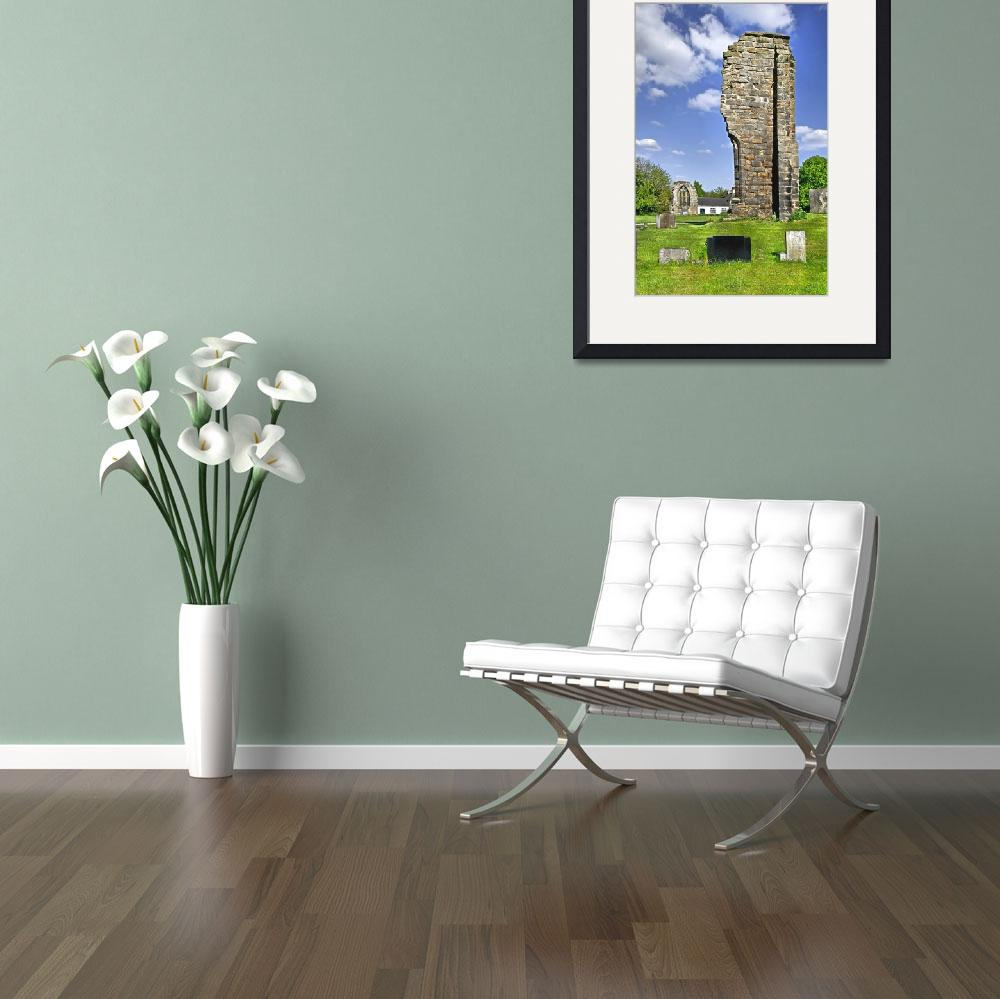 """""""West Wall Remains, Ticknall Old Church (16939-RDA)&quot  (2009) by rodjohnson"""