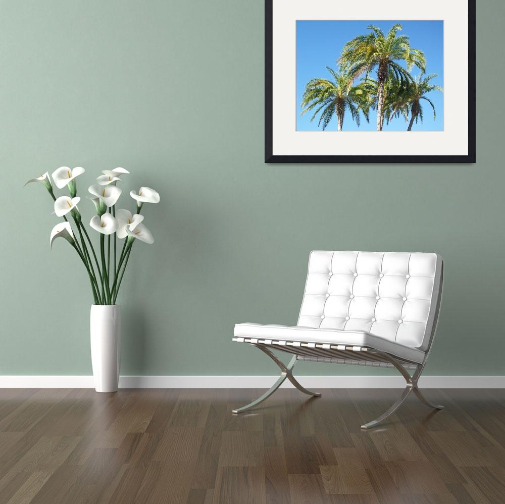 """""""Palms""""  (2008) by WaterstoneArt"""