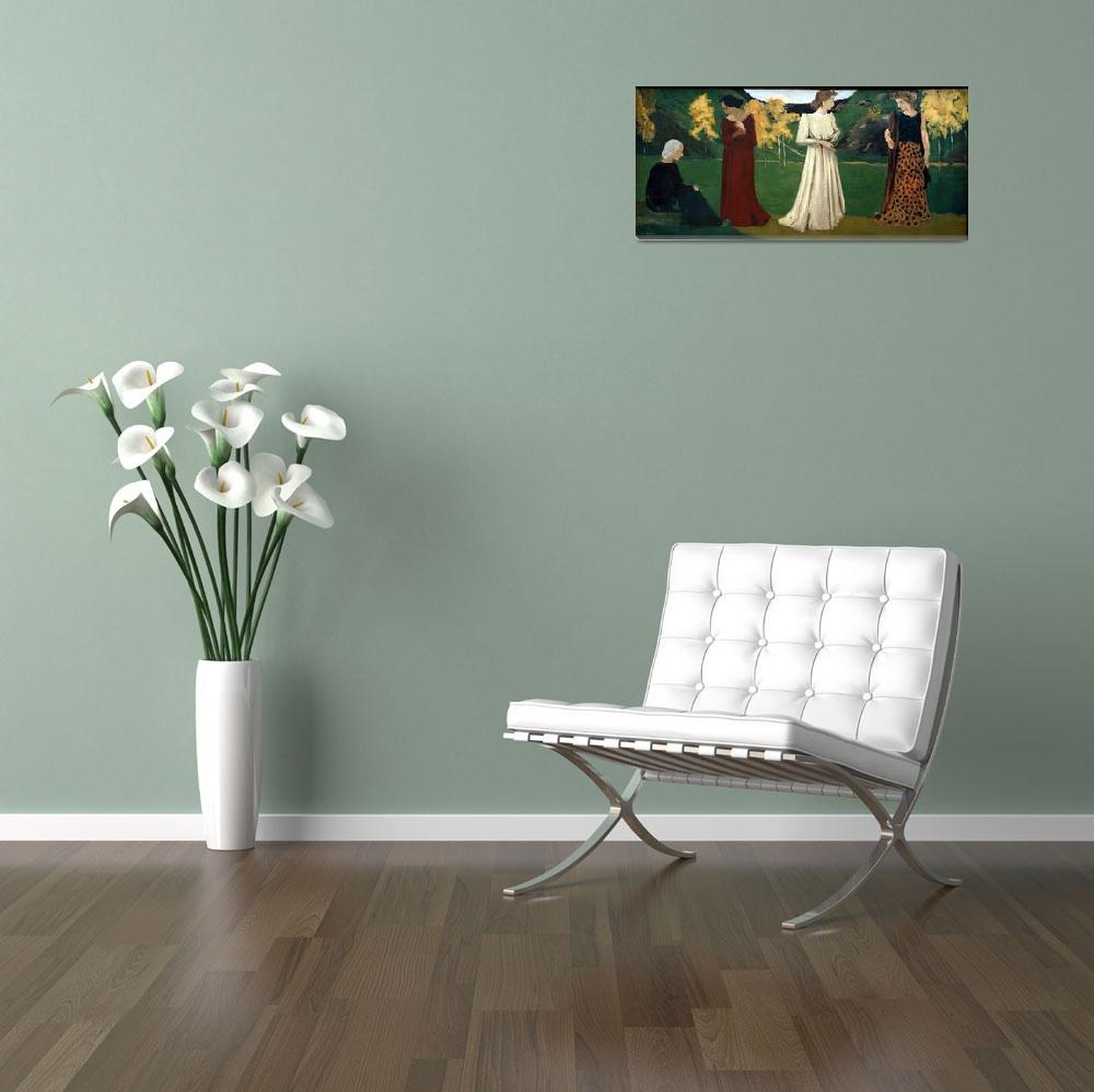 """""""Ker Xavier Roussel Art Framed Print""""  by buddakats1"""