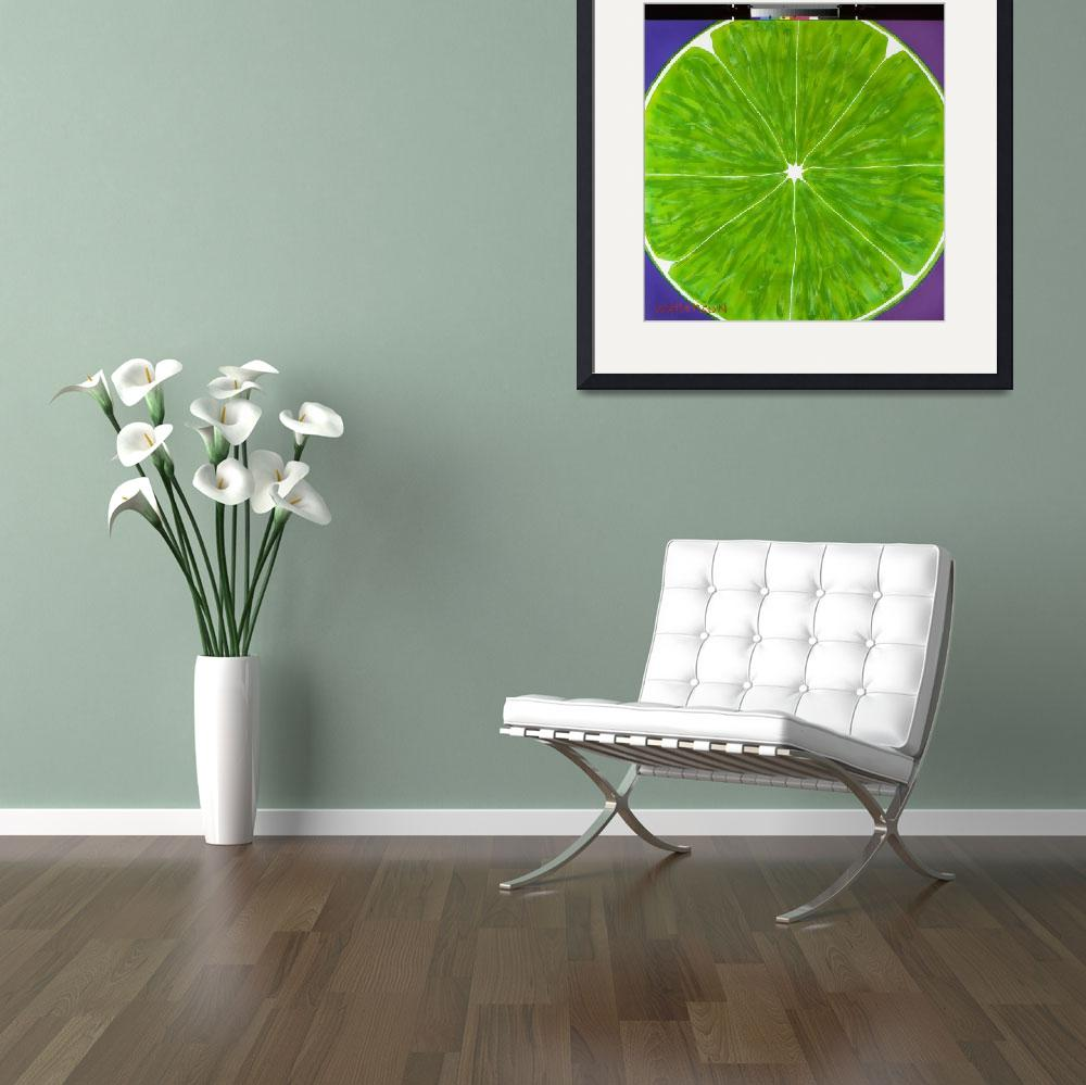 """""""Texas Lime&quot  (2011) by TexasPopArt"""