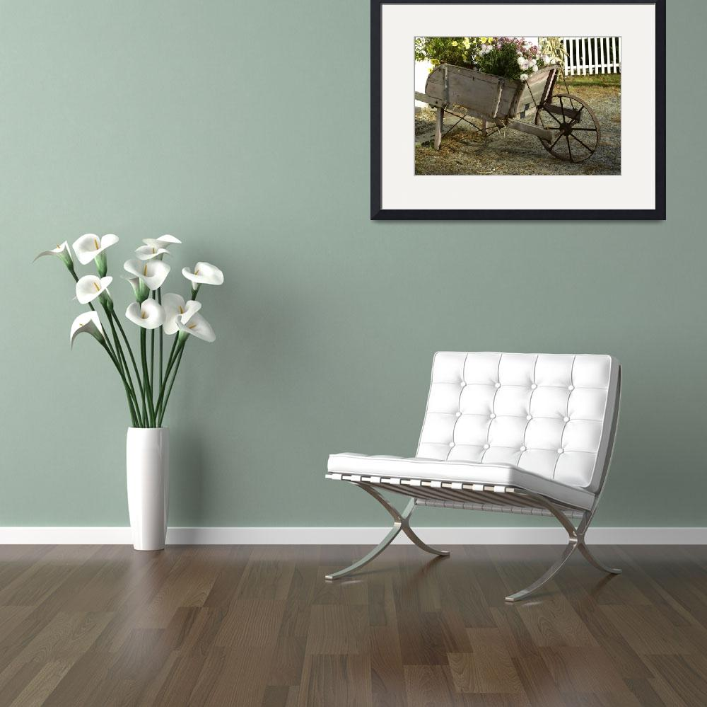 """""""The Flower Cart&quot  by kml"""