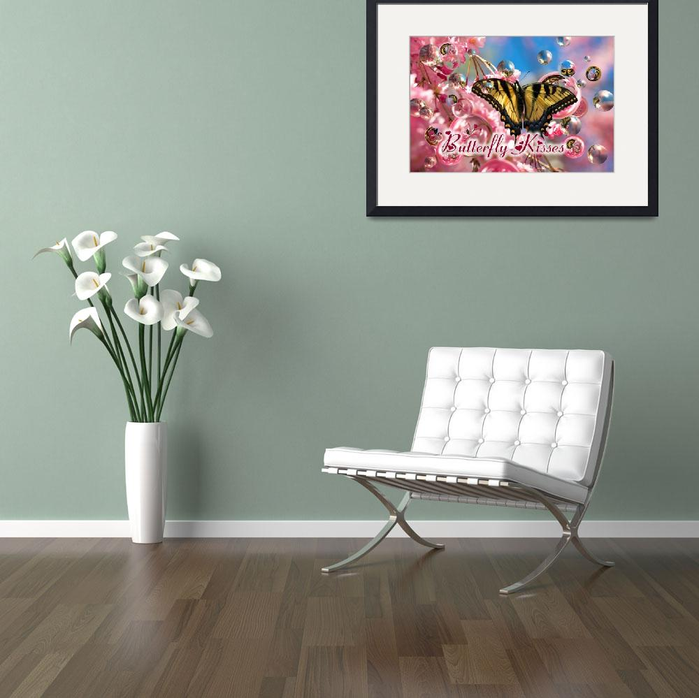 """""""Butterfly Kisses&quot  by tricia"""