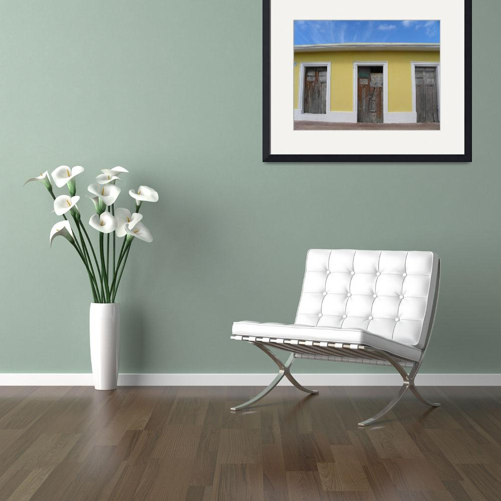 """""""Yellow Wall&quot  (2010) by orincassill"""