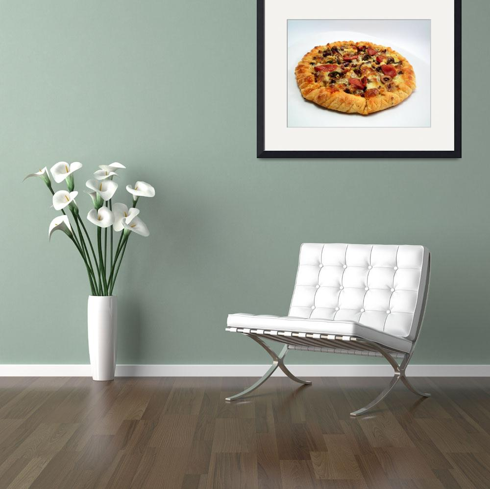 """Pizza&quot  (2011) by Mohamed-Fadly"