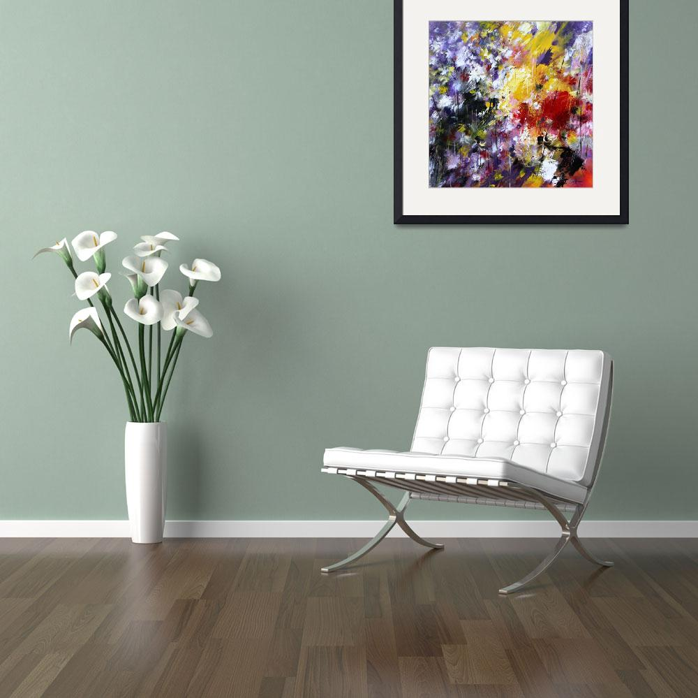 """""""Abstract Flowers 2011&quot  (2011) by zampedroni"""