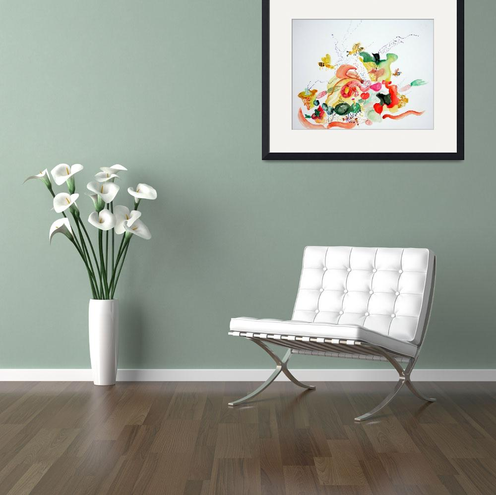 """""""veggies&quot  by loulou"""