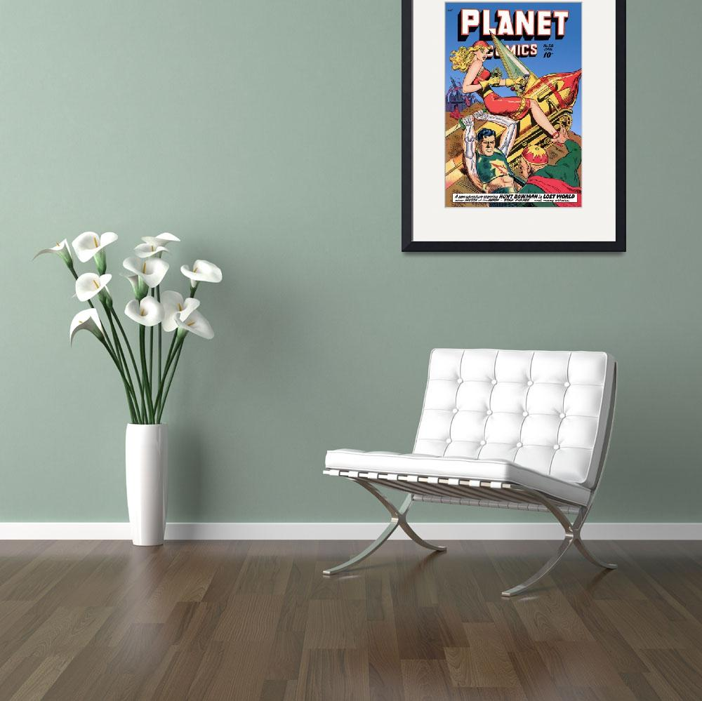 """""""Planet Comics&quot  (2011) by dalidayna"""