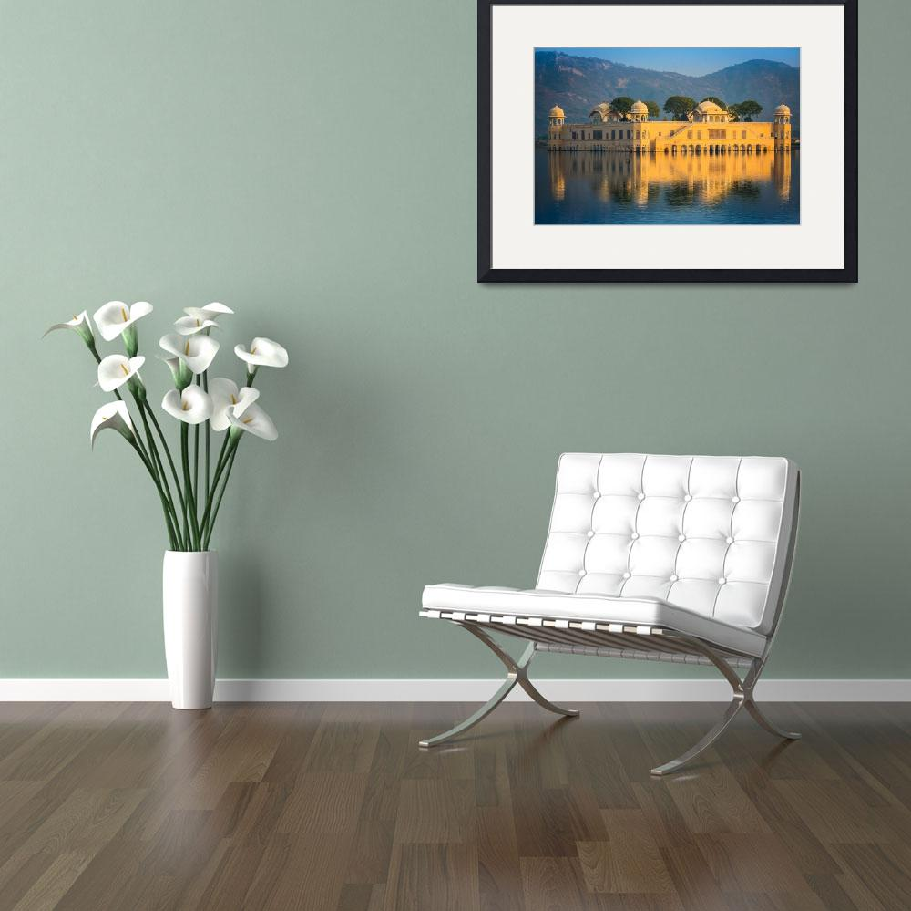 """""""Jal Mahal&quot  (2013) by Inge-Johnsson"""