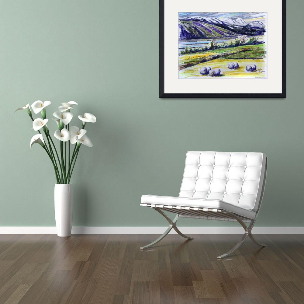 """""""Adaldalur Valley, Iceland&quot  (2012) by BarbaraPommerenke"""