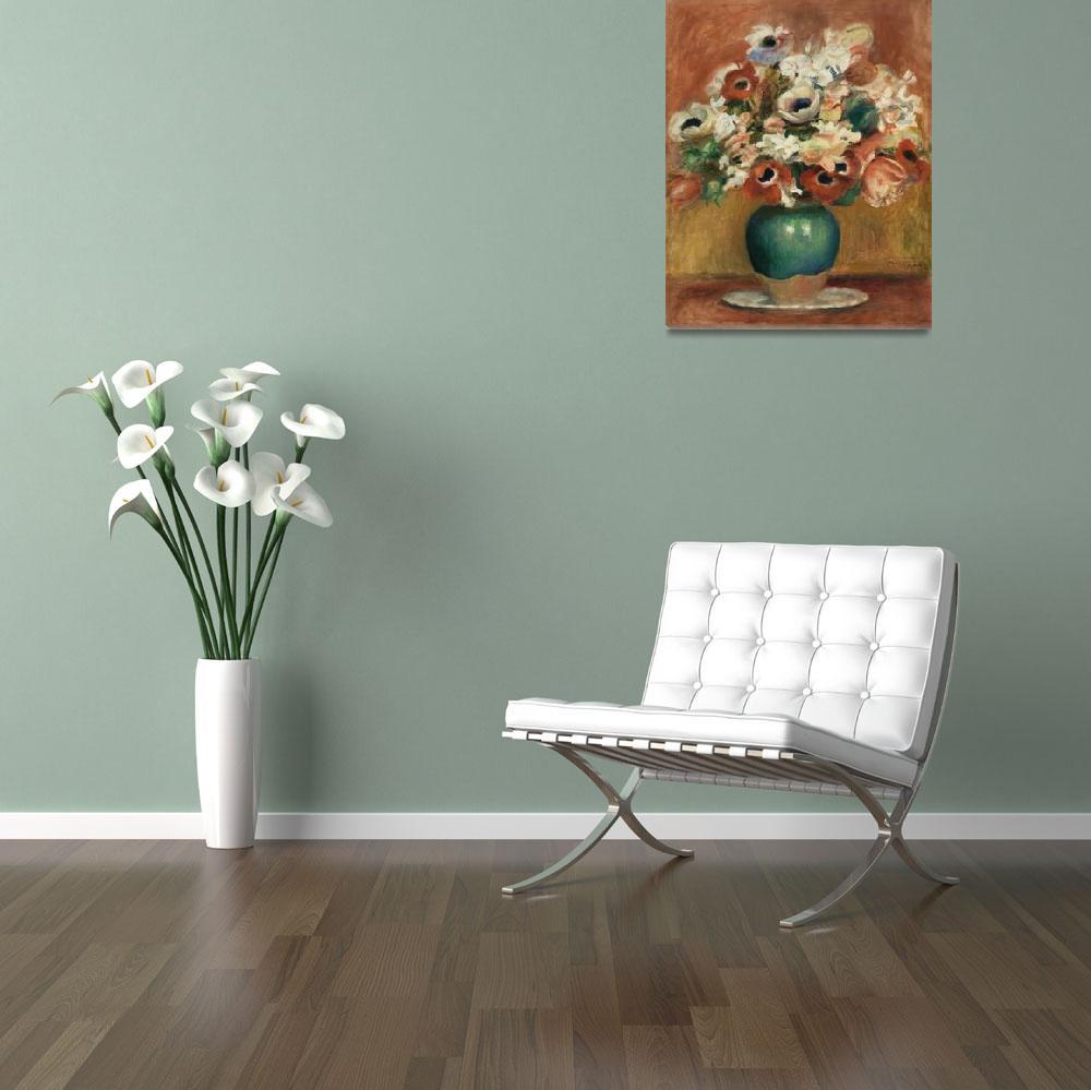 """""""Flowers by Renoir""""  by FineArtClassics"""