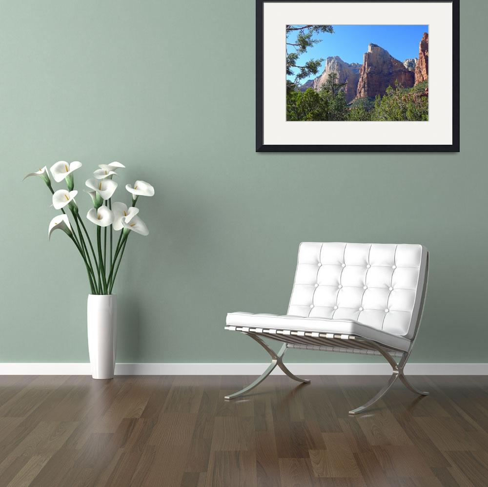 """""""Zion National Park, Utah&quot  (2007) by stockphotos"""