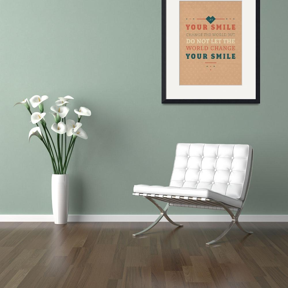 """""""Smile&quot  by artlicensing"""