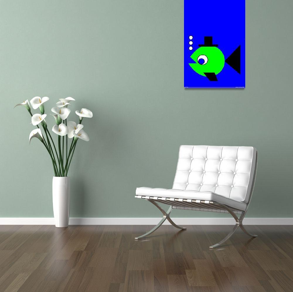 """Hat Fish""  by Lonvig"