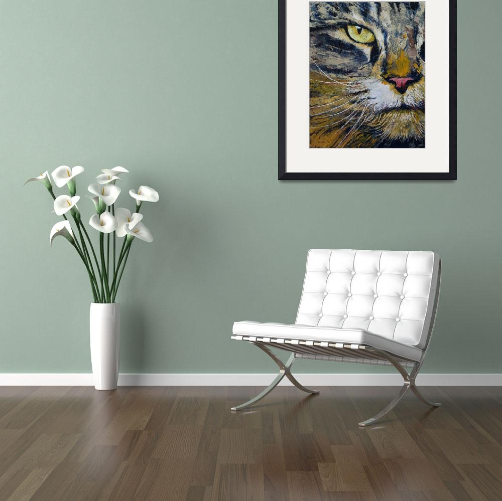"""Norwegian Forest Cat&quot  by creese"