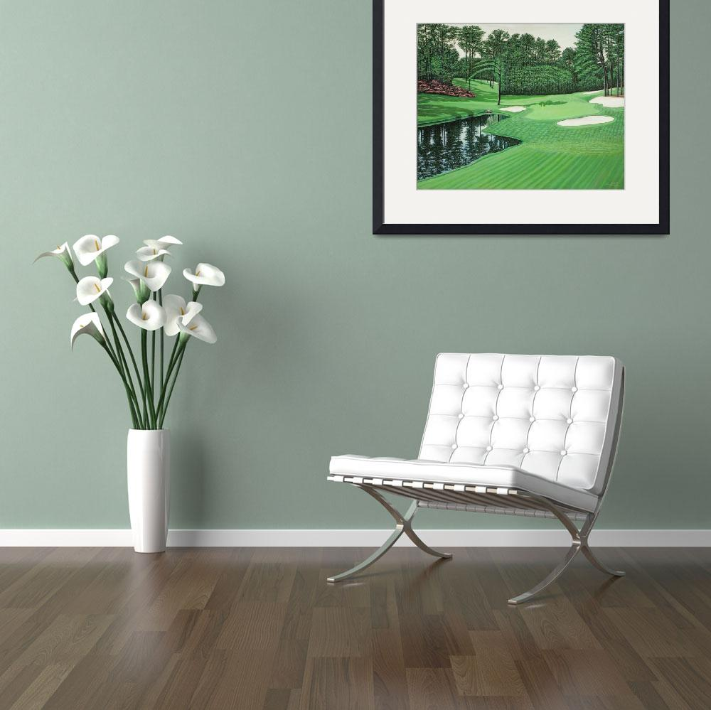 """""""Copy Shoot-216th at Augusta National Golf Course&quot  (2010) by NEILBURGARDT"""