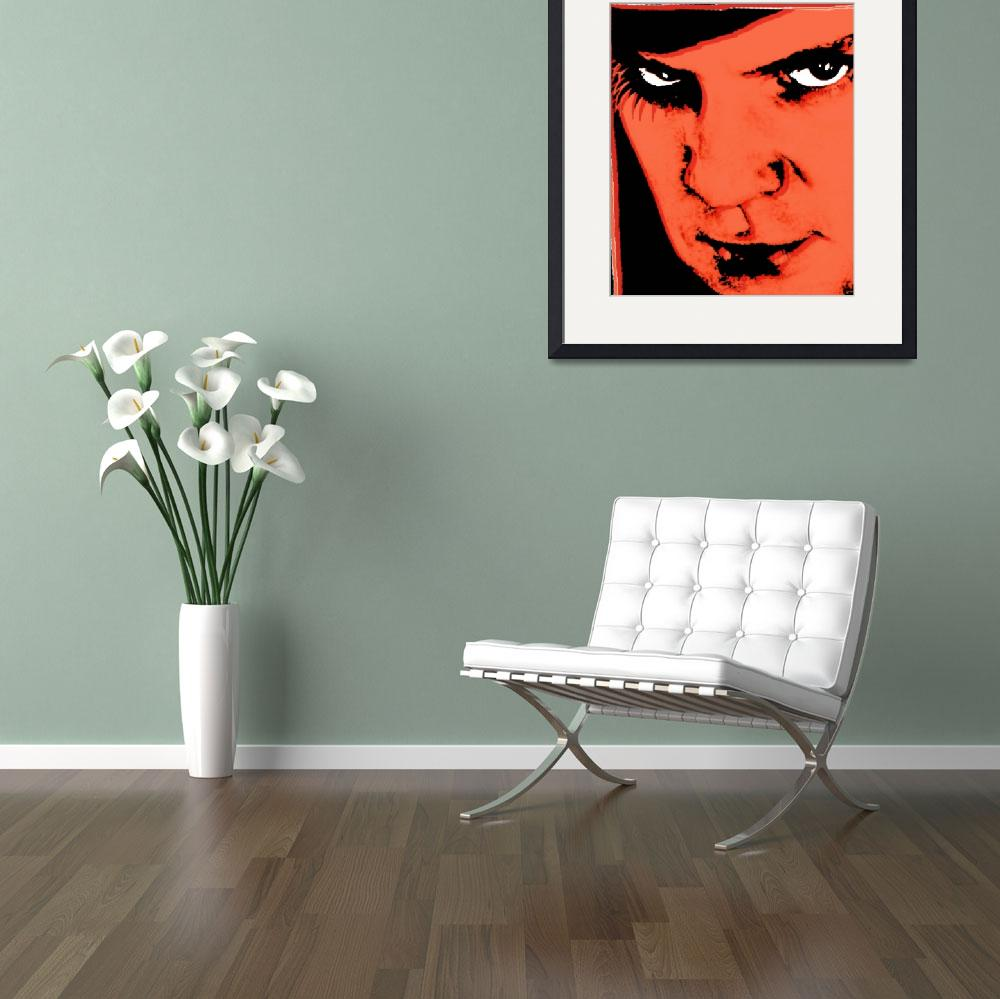 """A Clockwork Orange Malcolm McDowell&quot  by RubinoFineArt"