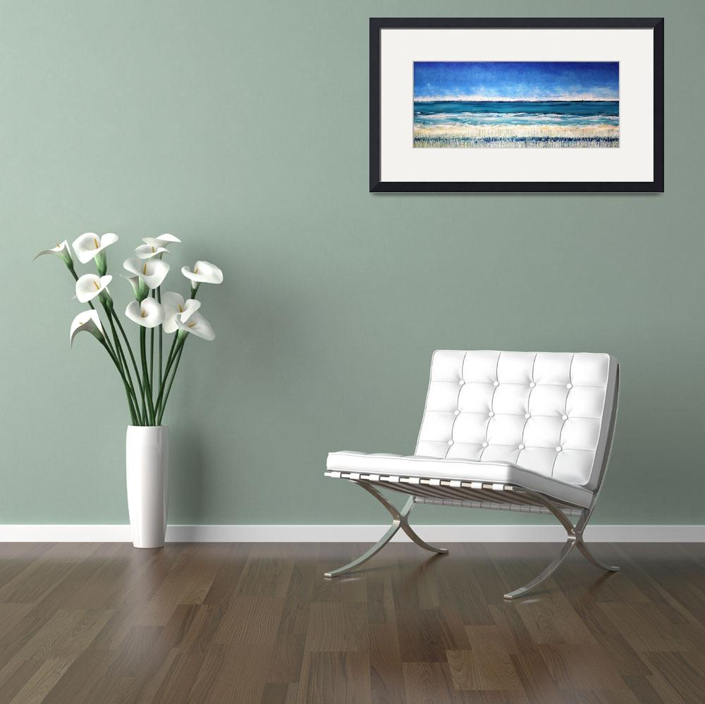 """""""On the Beach&quot  by Kathie_Nichols"""