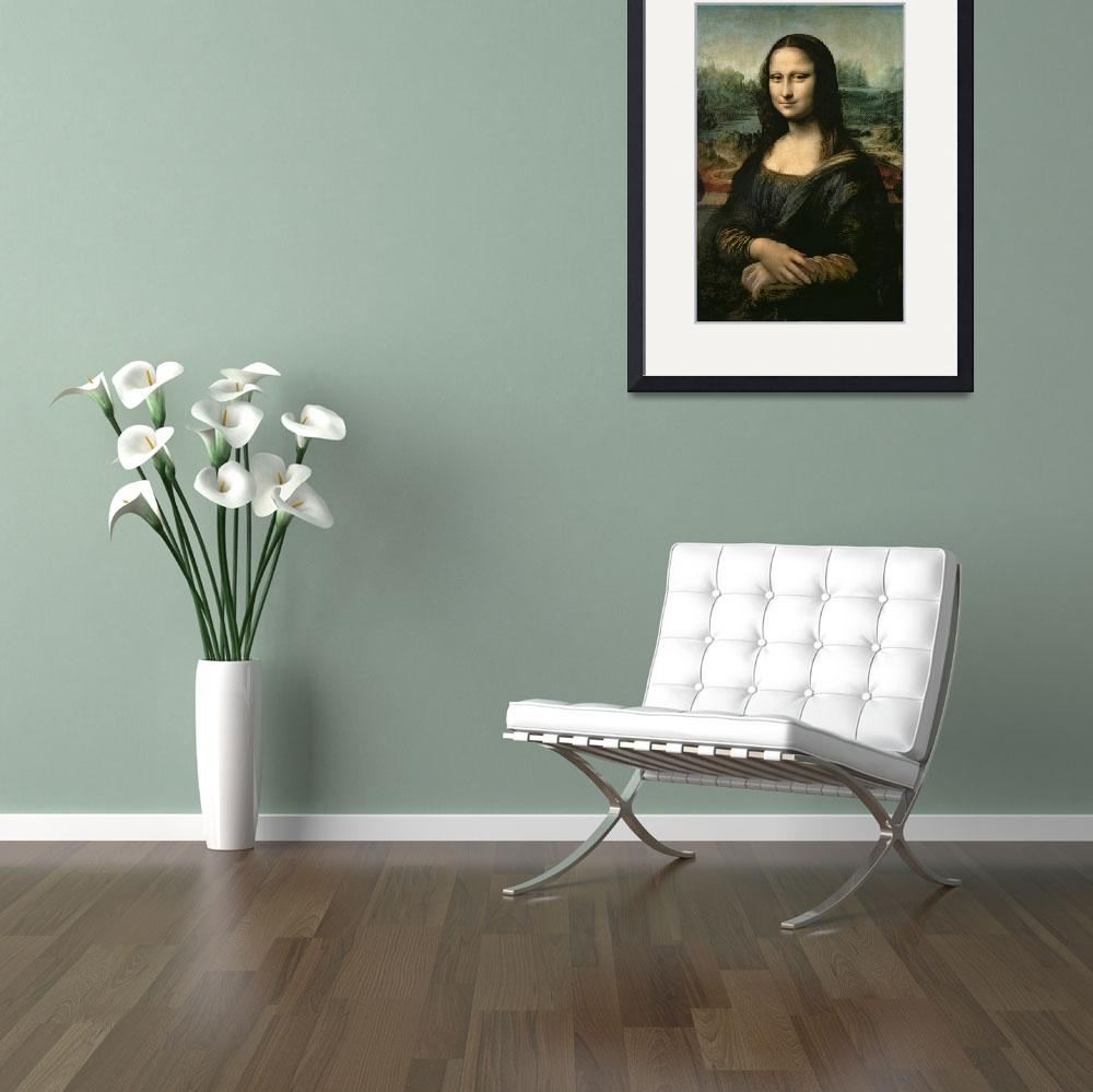 """""""Mona Lisa, c.1503-6 (oil on panel)""""  by fineartmasters"""
