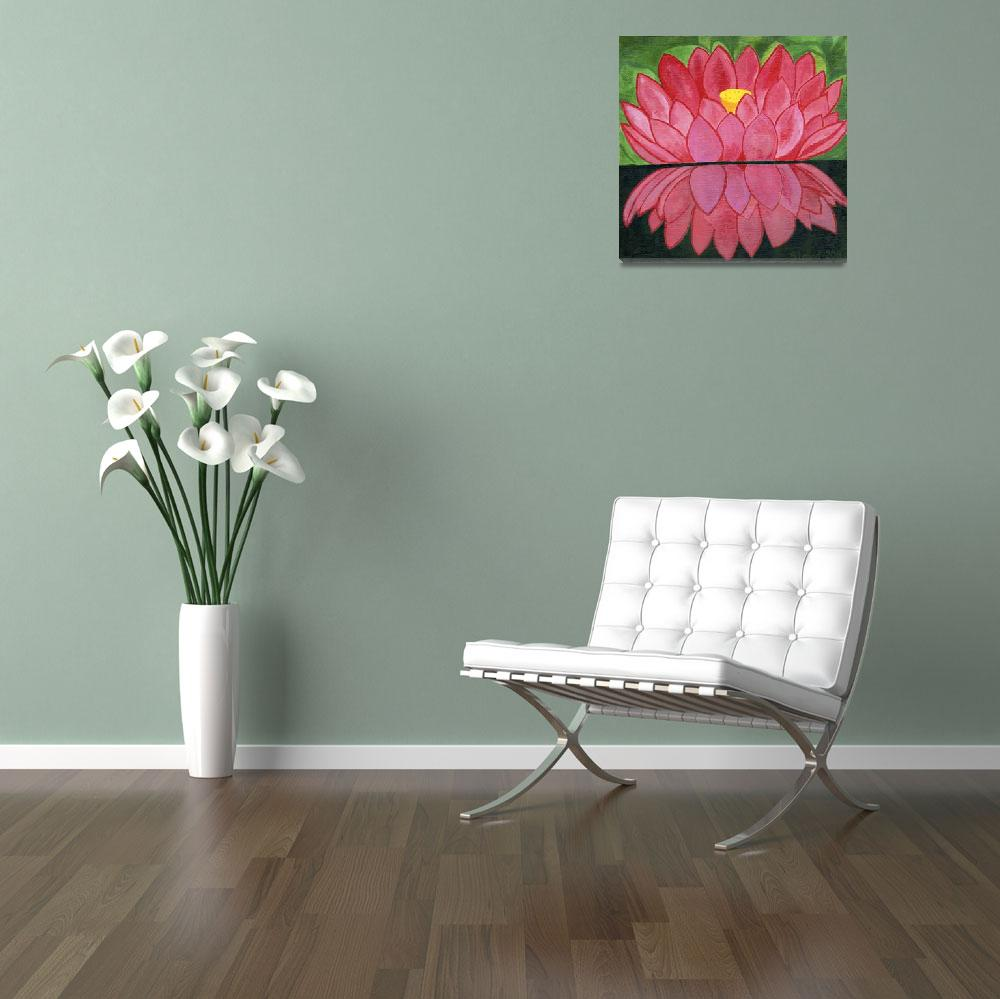 """""""lotus and reflection&quot  (2011) by StrandStudio"""