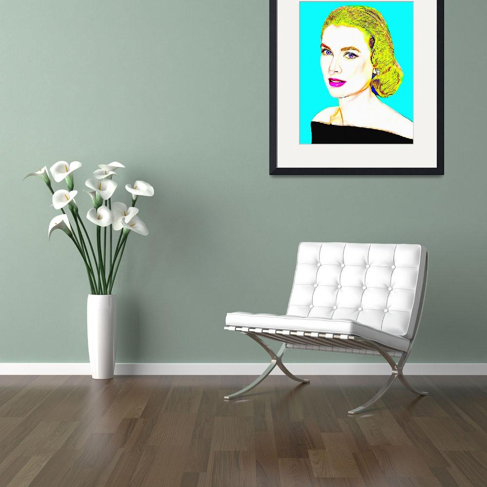 """""""Grace Kelly&quot  (2014) by ArtCinemaGallery"""