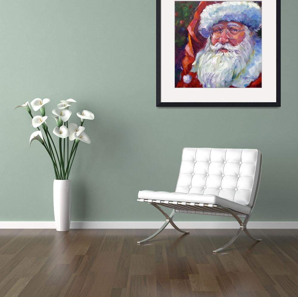 """Colorful Santa, 2011&quot  (2011) by offthewallart"