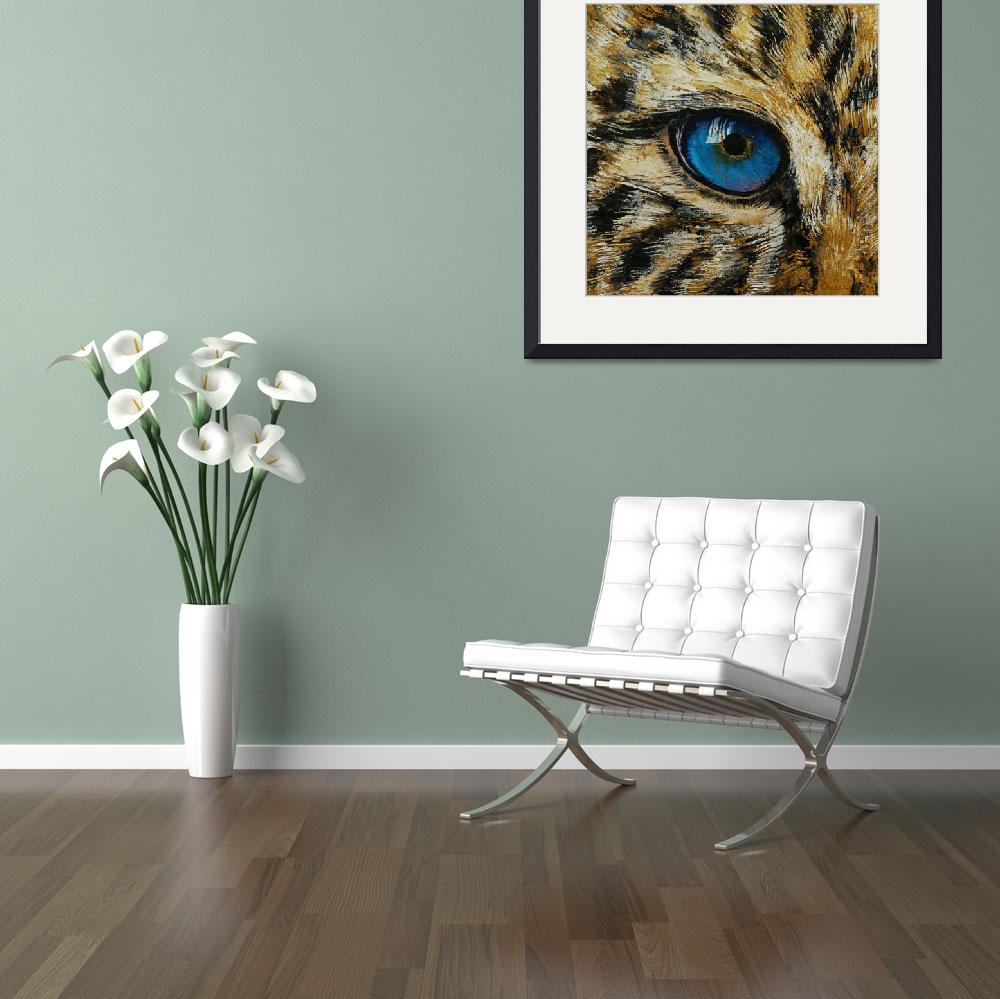 """Leopard Eye&quot  by creese"