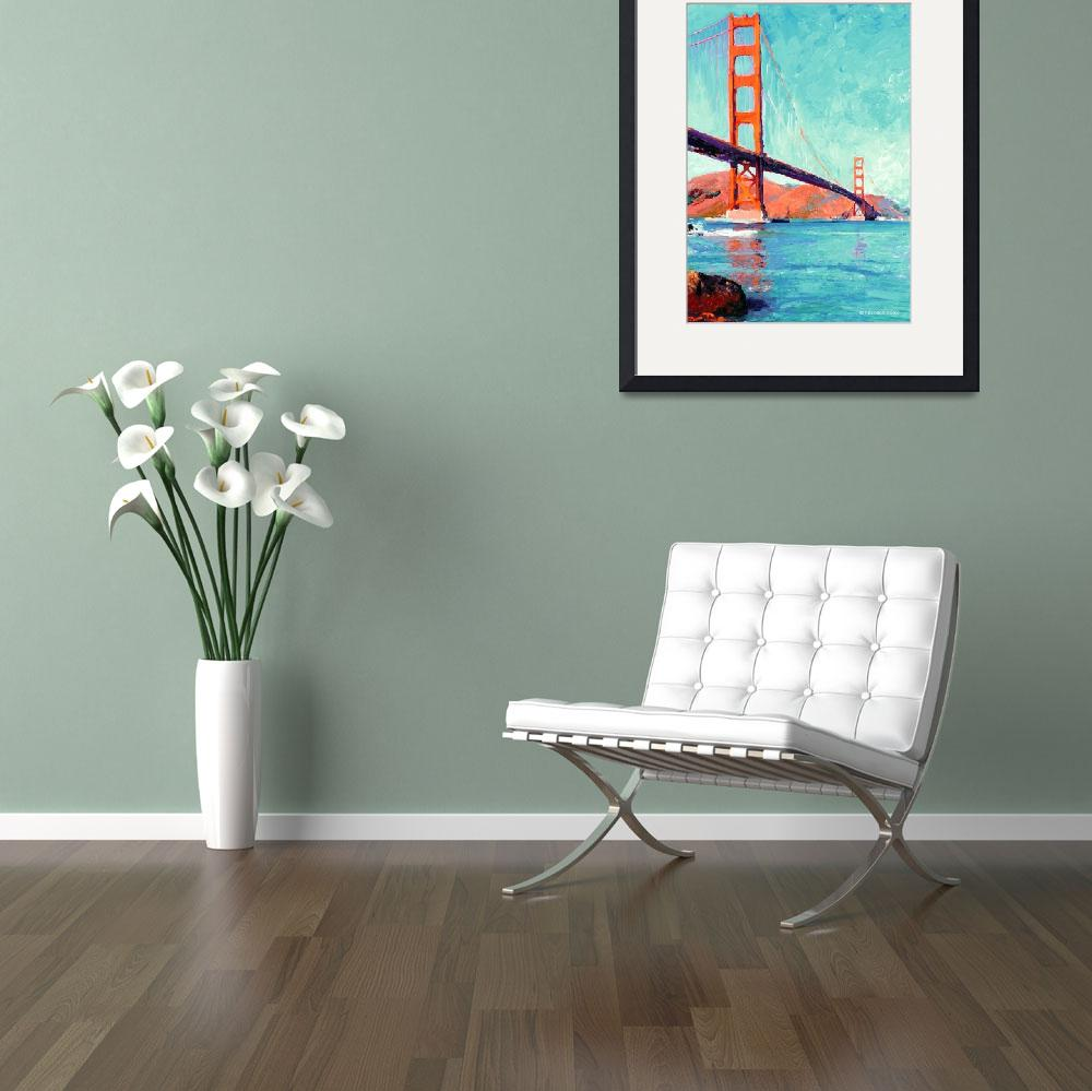 """Golden Gate Bridge San Francisco by Riccoboni&quot  (2006) by RDRiccoboni"