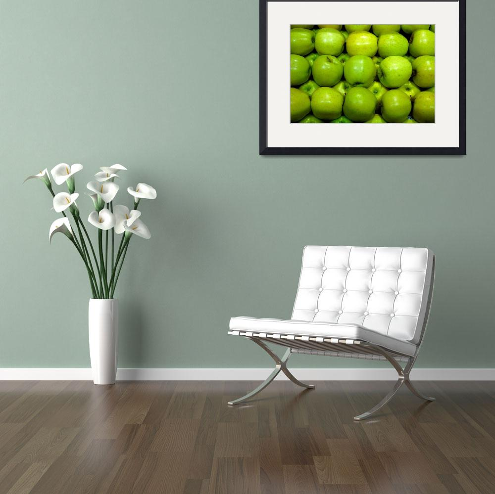 """Green Apples&quot  (2014) by robertmeyerslussier"