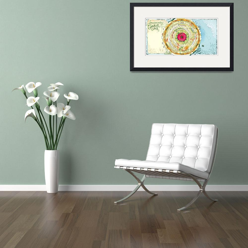 """""""Garden Circle&quot  (2011) by timothybanks"""