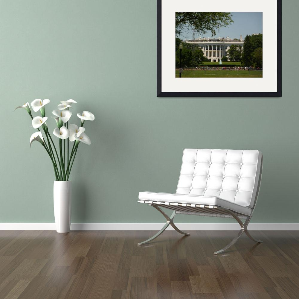 """""""The White House 331&quot  (2010) by photographybydonna"""