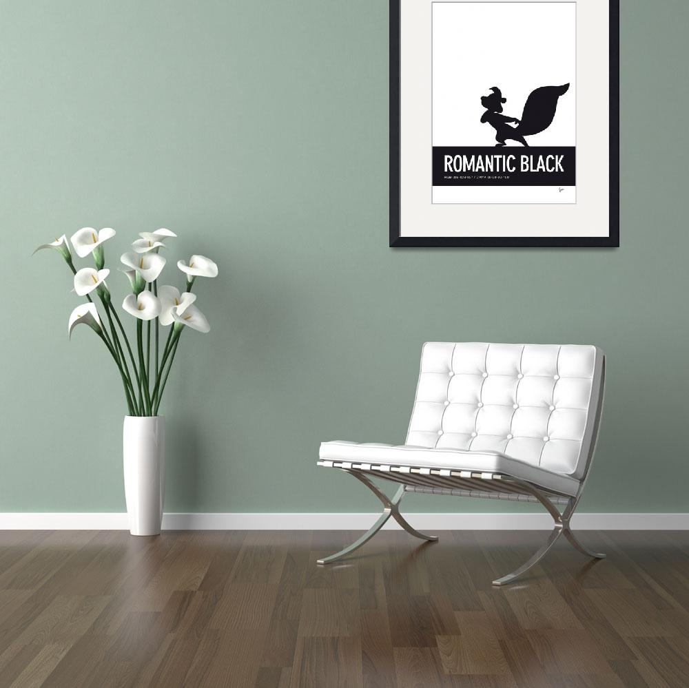 """""""No13 My Minimal Color Code poster Pepe Le Pew&quot  by Chungkong"""